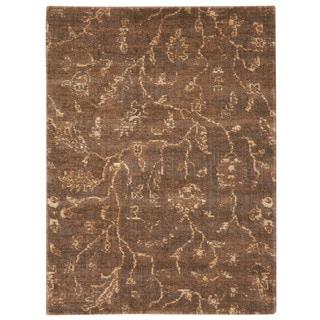 Nourison Silken Allure Cocoa Area Rug (2'3 x 3')