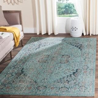 Safavieh Artisan Vintage Light Blue Distressed Area Rug (9' x 12')