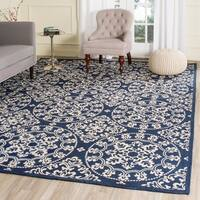 Safavieh Handmade Cedar Brook Navy / Natural Jute Rug - 9' x 12'