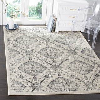 Safavieh Carnegie Vintage Cream / Light Grey Rug (9' x 12')