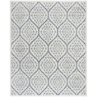 Safavieh Carnegie Vintage Ogee Cream / Light Grey Rug (9' x 12')