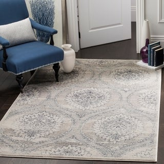 Safavieh Carnegie Vintage Light Grey / Cream Rug (9' x 12')