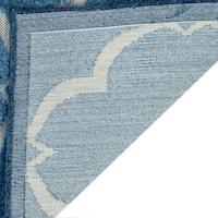 Safavieh Indoor / Outdoor Cottage Moroccan Blue / Cream Rug - 8' x 11'