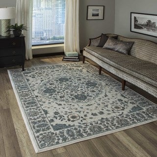 Momeni Brooklyn Heights Polyester and Polypropylene Ivory Are Rug - 2' x 3'