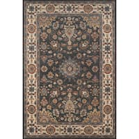 Momeni Tudor Grey Hand-Tufted Wool Rug (8' X 11')