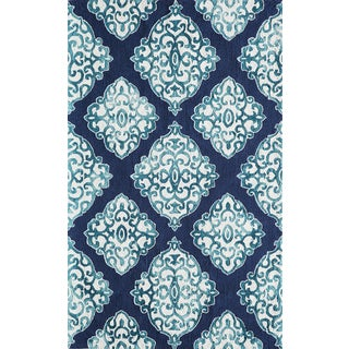 Hand-Hooked Augusta Polyester Rug (2' x 3')