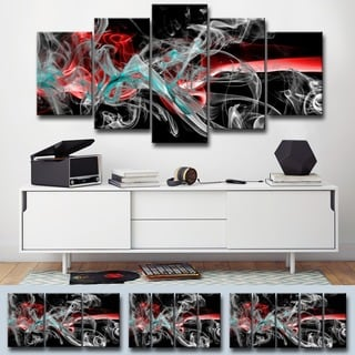 Ready2HangArt 'Glitzy Mist XI' by Tristan Scott Canvas Art Set