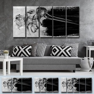 Ready2HangArt 'Glitzy Mist IX' by Tristan Scott Canvas Art Set