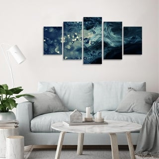 Ready2HangArt 'Glitzy Mist VII' by Tristan Scott Canvas Art Set