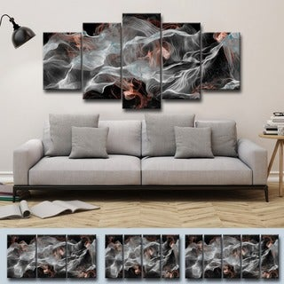 Ready2HangArt 'Glitzy Mist IV' by Tristan Scott Canvas Art Set