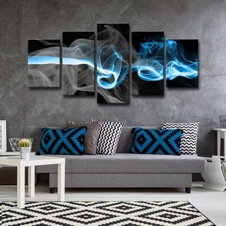 Ready2HangArt 'Glitzy Mist I' by Tristan Scott Canvas Art Set