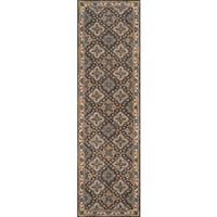 Momeni Tudor Grey Hand-Tufted Wool Runner Rug - 2'3 X 8'