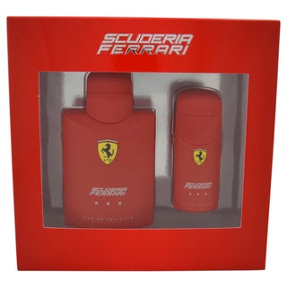 Ferrari Red Men's 2-piece Gift Set