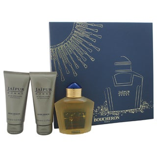 Boucheron Jaipur Homme Men's 3-piece Gift Set