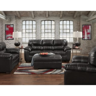 Sofa Trendz Corina Faux Leather Sofa Set (4-piece Set)