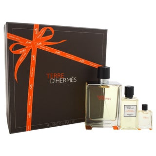 Hermes Terre D'Hermes Men's 3-piece Gift Set