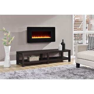Altra Kenna 35-inch Black Wall Mount Fireplace