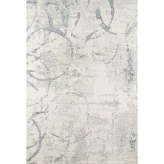 Momeni Illusions Hand-Tufted Wool Rug (Beige - 36 x 56)