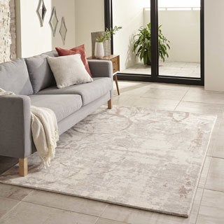 "Hand-Tufted Gallery Boulder Wool Rug (3'6"" x  5'6"")"