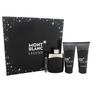 Mont Blanc Legend Men's 4-piece Gift Set
