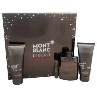 Mont Blanc Legend Intense Men's 4-piece Gift Set