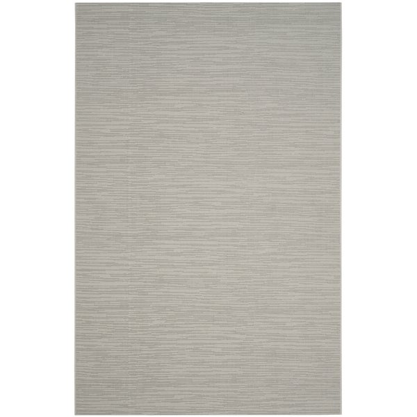 Outdoor Rug 7 X 10: Safavieh Courtyard Tonal Light Grey Indoor/ Outdoor Rug