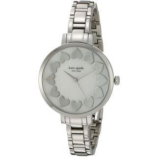 Kate Spade Women's KSW1034 'Gramercy' Heart Stainless Steel Watch