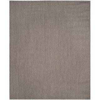Safavieh Indoor / Outdoor Courtyard Light Brown / Light Grey Rug (9' x 12')