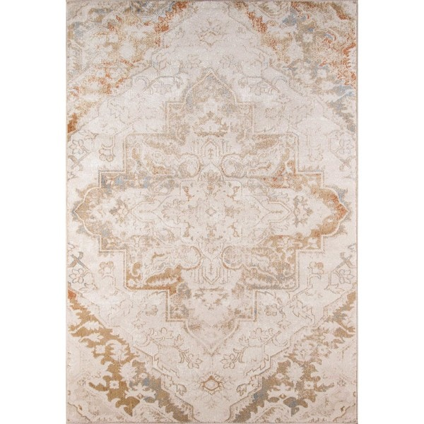Machine-Made Kingsley Palace Polyester with Polypropylene Rug (2' x 3')