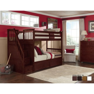 School House Cherry Stair Bunk