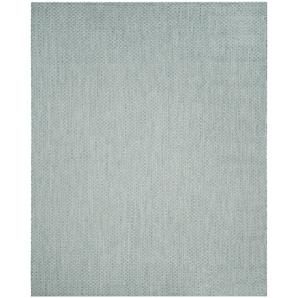 Blue Outdoor Rug 9x12: Safavieh Indoor / Outdoor Courtyard Light Blue / Light