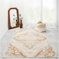 "Momeni Amelia Machine Made Polypropylene and Polyester Area Rug - 5'3"" x 7'6"""