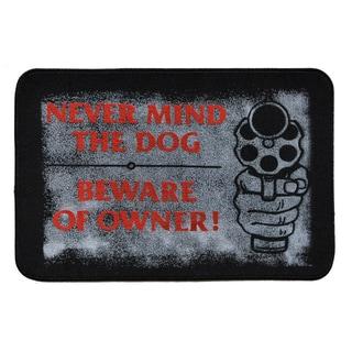 Beware of Owner Indoor Mat