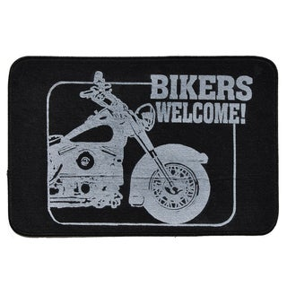 Bikers Welcome Indoor Mat