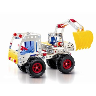 Dimple 'Build Your Own Loader' Multicolored Metal/Plastic Truck (240 Pieces)