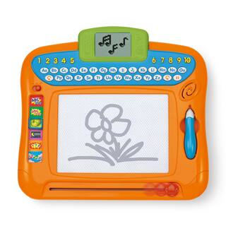 Winfun Orange Plastic Write 'N Draw Learning Board|https://ak1.ostkcdn.com/images/products/12659584/P19447412.jpg?impolicy=medium