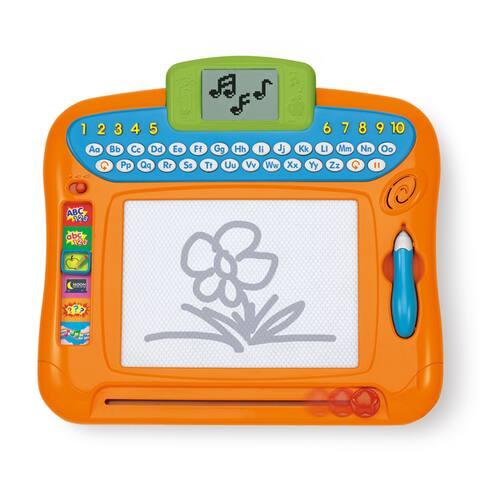 Winfun Orange Plastic Write 'N Draw Learning Board