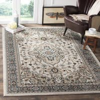Chase Traditional Oriental Cream/ Beige Rug - 9' x 12'
