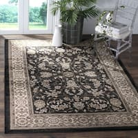 Safavieh Lyndhurst Traditional Oriental Anthracite/ Cream Rug - 9' x 12'