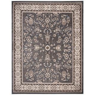 Safavieh Lyndhurst Traditional Oriental Grey/ Cream Rug (8' x 10')