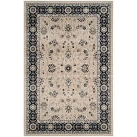Safavieh Lyndhurst Traditional Oriental Light Beige/ Anthracite Rug - 9' x 12'
