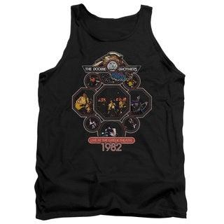 Doobie Brothers/Live Greek Adult Tank in Black