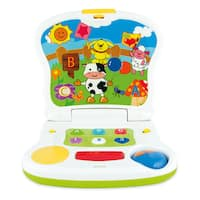 Winfun Children's Cow-themed Interactive Laptop Toy