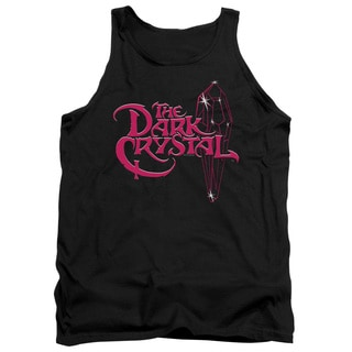 Dark Crystal/Bright Logo Adult Tank in Black