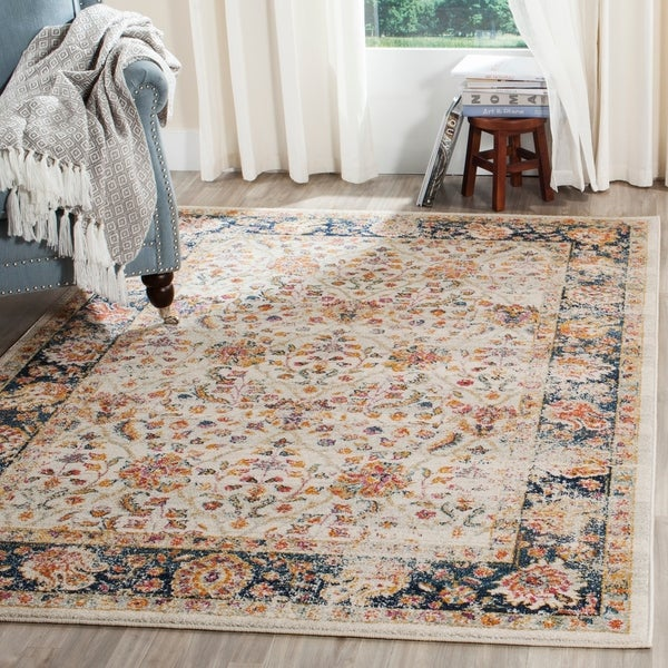 Safavieh Madison Scarlette Distressed Vintage Boho Oriental Rug