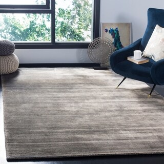 Safavieh Hand-knotted Mirage Modern Stone Wool Rug (8' x 10')