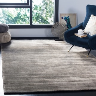 Safavieh Hand-knotted Mirage Modern Stone Wool Rug (9' x 12')