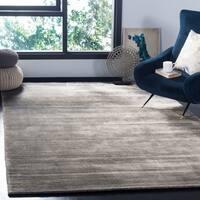 Safavieh Handmade Mirage Modern Stone Wool/ Viscose Rug - 9' x 12'