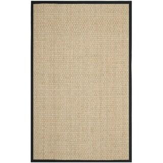 Safavieh Martha Stewart Winding Braid Ebony Seagrass Rug (8' x 10')