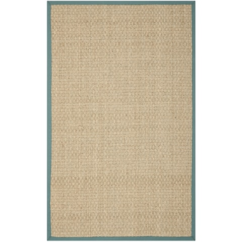 Martha Stewart by Safavieh Klavdia Border Seagrass Rug